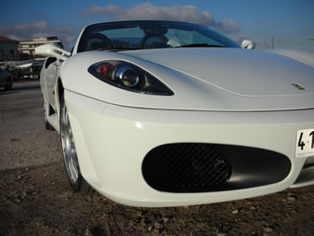 NEW FERRARI F430 SPIDER TO RENT JUST4VIP